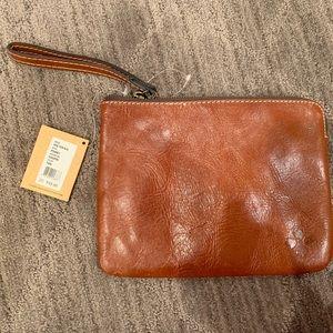 Patricia Nash Leather Wristlet